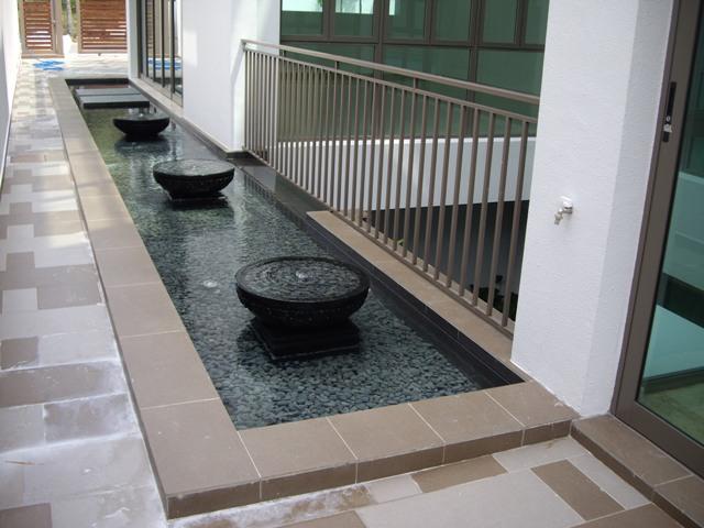 outdoor water function