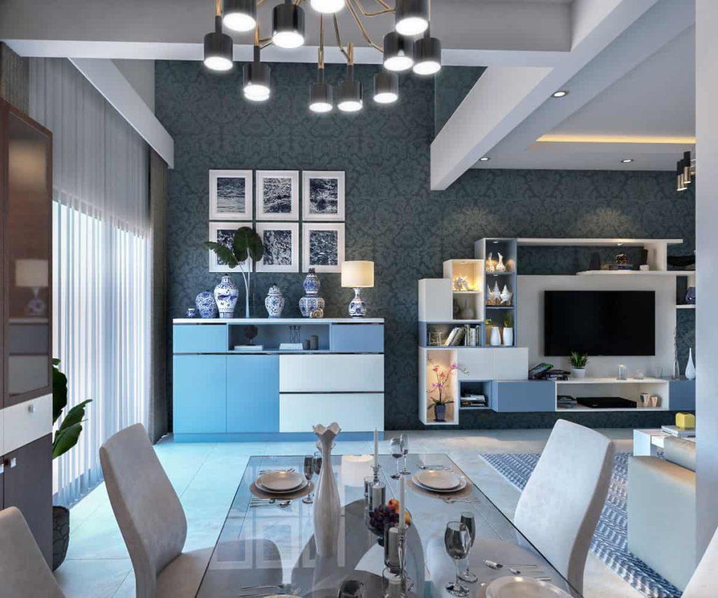 Interior designing construction